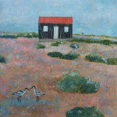 Avocets At The Red Hut