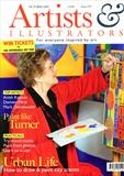 Artists and Illustrators Magazine by Anna Wilson-Patterson, Artist Book