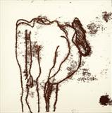Behind A Cow 2 by Anna Wilson-Patterson, Artist Print