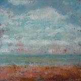 Channel Way, April by Anna Wilson-Patterson, Painting, Oil on Wood