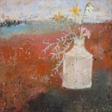Coastal Bouquet by Anna Wilson-Patterson, Painting, Oil on panel