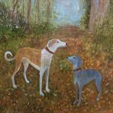Commission by Anna Wilson-Patterson, Painting, Oil on Wood