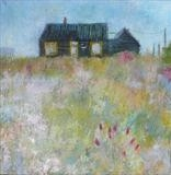 Derek Jarman's Shaggy Garden by Anna Wilson-Patterson, Painting, Oil on Board