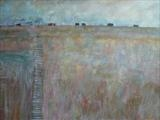 Dungeness by Anna Wilson-Patterson, Painting, Oil on canvas