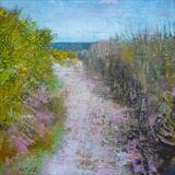 Hastings Country Park, April by Anna Wilson-Patterson, Painting, Oil on Wood
