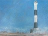 Lighthouse Ultramarine by Anna Wilson-Patterson, Painting, Oil on canvas