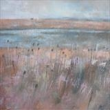 Long Pit Nature Reserve by Anna Wilson-Patterson, Painting, Oil on canvas
