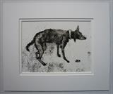 Lurcher Soggy Doggy by Anna Wilson-Patterson, Artist Print