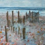 Mary Stanford Groynes by Anna Wilson-Patterson, Painting, Oil on Wood