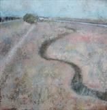 Meander Rye Nature Reserve by Anna Wilson-Patterson, Painting, Oil on Wood