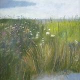 Misty Morning, Rye Harbour by Anna Wilson-Patterson, Painting, Oil on panel