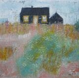 Propect Cottage, August by Anna Wilson-Patterson, Painting, Oil on canvas