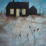 Prospect Cottage Dungeness Card by Anna Wilson-Patterson, Painting, Ink on Paper