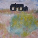 Prospect Cottage July by Anna Wilson-Patterson, Painting, Oil on canvas