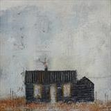 Prospect Cottage October by Anna Wilson-Patterson, Painting, Oil on panel