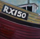 RX150 by Anna Wilson-Patterson, Painting, Oil on canvas