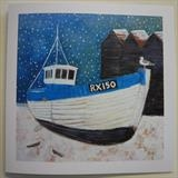 RX150 In The Snow Cards by Anna Wilson-Patterson, Painting, Ink on Paper