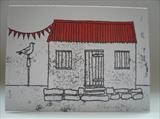 Red Hut Rye by Anna Wilson-Patterson, Illustration, Ink on Paper