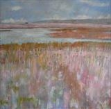 Rye Harbour Summer Commission by Anna Wilson-Patterson, Painting, Oil on canvas