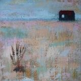 Shrimpers Shack On Shingle by Anna Wilson-Patterson, Painting, Oil on canvas