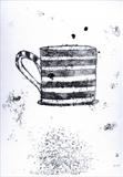 Striped Mug by Anna Wilson-Patterson, Artist Print