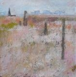 The Old Lighthouse Dungeness by Anna Wilson-Patterson, Painting, Oil on Board