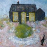 Thomas at Prospect Cottage by Anna Wilson-Patterson, Painting, Oil on Board