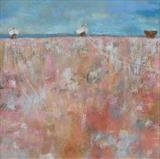 Three Dungeness Boats by Anna Wilson-Patterson, Painting, Oil on canvas