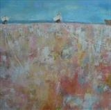 Three Dungeness Boats Cards by Anna Wilson-Patterson, Painting, Ink on Paper