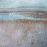 Waders Pool, Rye Harbour by Anna Wilson-Patterson, Painting, Oil on panel