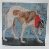 Whippet Walk Cards by Anna Wilson-Patterson, Painting, Ink on Paper