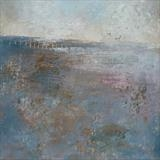 Winchelsea Beach Autumn by Anna Wilson-Patterson, Painting, Oil on panel