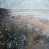 Winchelsea Beach Winter by Anna Wilson-Patterson, Painting, Oil on Board